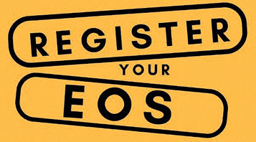 Registration-EOS-Token