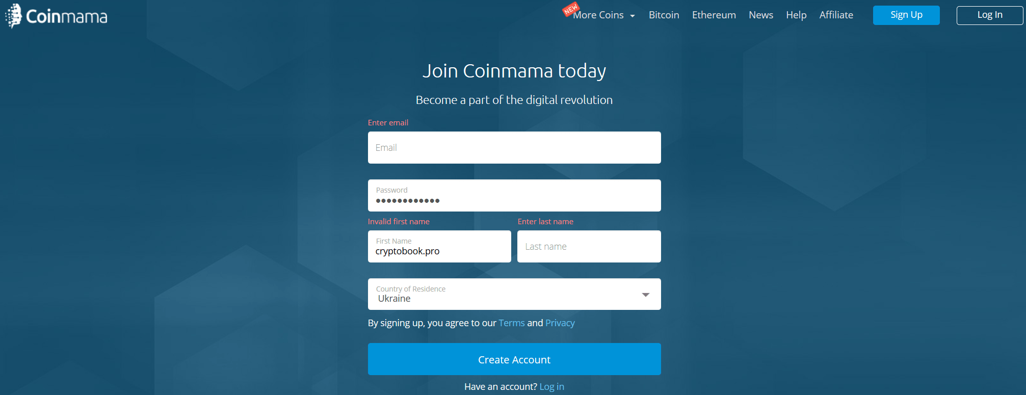 coinmama-register