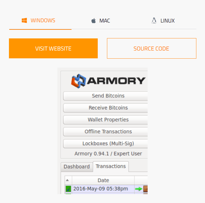 Armory_on_bitcoin.org